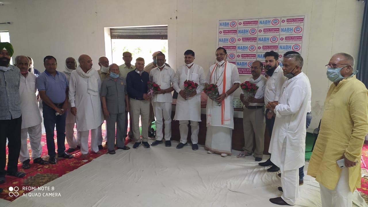 Health Check-Up Camp at Indira Gandhi National College