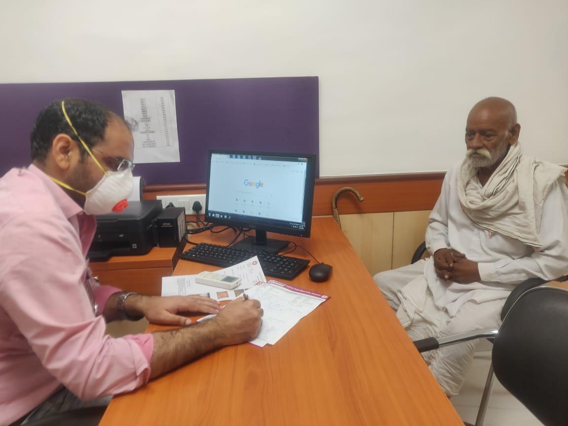 Grand health camp at Cygnus super-specialty hospital, Rewari